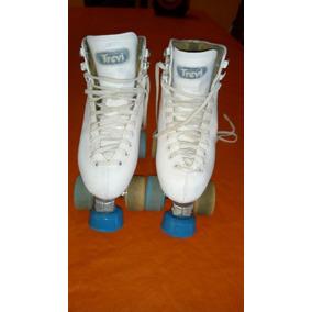 Patines Top Skate Bota Trevi Ruedas Da Vinchi N° 32-33