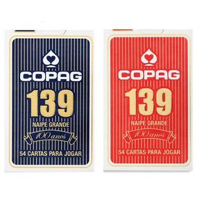 Kit 02 Cx Baralho Copag 139 Com 24 Caixinhas Com 54 Cartas .