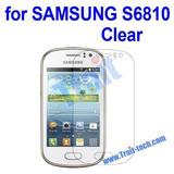 Mica Protectora De Pantalla Para Samsung Galaxy Fame 6810