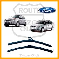Par Palheta Silicone Limpador Parabrisa Fiesta 2005 À 2010