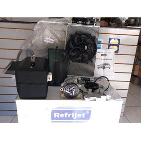 Kit Ar Condicionado Celta 1.0 S/dh - Refrijet Completo Novo