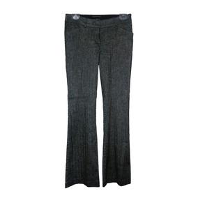 Pantalón Para Dama Marca Bebe Talla 2 Color Gris 37 Cintura
