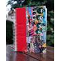 Cuaderno The Beatles Artesanal Personalizado Con Nombre