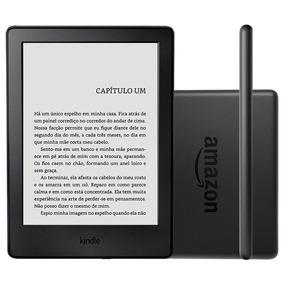 Kindle 8ª Geração Ao0513 Preto - 6, Wi-fi, 4gb