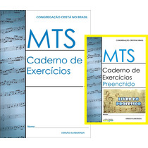 Mts Caderno Exercícios Ccb Kit C/12un (1 Livrprof) 11 Testes