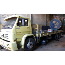 Caminhão Plataforma Volkswagen 23-220 6x2 3-eixos Ano: 2005