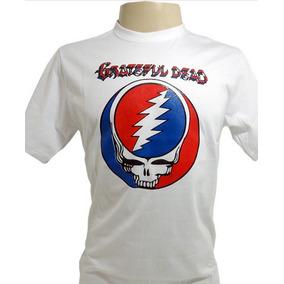 Camiseta Grateful Dead Skull Face Jerry Garcia Tamanho P