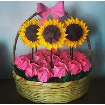 Flores De Origami Figuras De Origami Papiroflexia