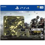 Playstation 4 Ps4 Slim 1tb Edicion Limitad Call Of Duty Wwii