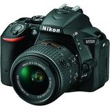 Nikon D5500 Dx Digital Slr 18-55mm Kit Vr Ii (negra)