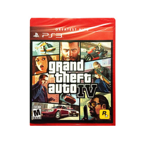 Grand Theft Auto Iv Nuevo Gta 4 Ps3 - Playstation 3