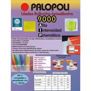 Vinilo Reflectivo Alta Intensidad Prismatico Palopoli 9000