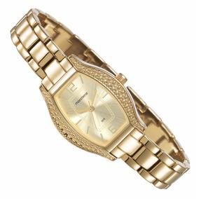 Relógio Mondaine Feminino Dourado Fashion 94752lpmgdm1