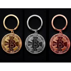 Chaveiro Bitcoin - Moeda Física - Único No Ml