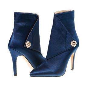 e648ca87 Botines Para Dama Tacon Alto - Zapatos Azul en Mercado Libre Colombia