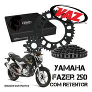 Kit Relação Vaz Xtreme C/retentor  Fazer 250 4512 Aço 1045