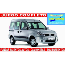 Fundas Asiento Renault Kangoo Cuero Ecologico Premium!!!!