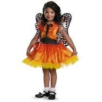 Disfraz Primavera Niña Mariposa Talla 4 A 6 Años Con Alas