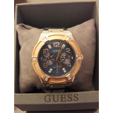 Relógio Guess Feminino 92506lpgsgc1 Pulseira Jeans Original