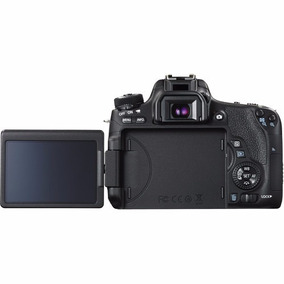 Maquina Canon Eos Rebel T6s 24.2mp C/18-55 Full Hd,wi-fi