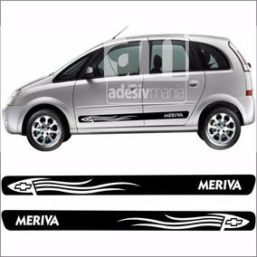 Faixas Tuning Kit Adesivo Lateral Meriva Meri-08