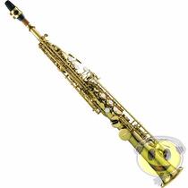 Sax Soprano Michael Wssm 35 Bb - Laqueado - Loja Kadu Som