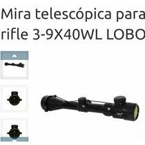 Mira Telescopica 3-9x40 Reticulas Iluminadas