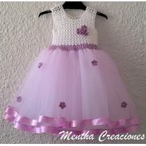 Vestidos Bebes - Niñas: Para Fiestas/ Bautismo/ 1er Añito