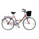 Bicicleta Playera Rod. 26 Mujer Dama Sport Italiana Canasto