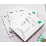 Cable Usb Aukey Para Iphone Ipad Ipod Certificado Apple