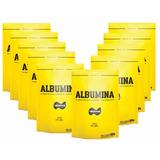 Kit 10 Albumina Naturovos 500g Natural 05 Kg *** Atacado ***