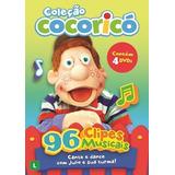 Coleção Cocoricó Clipes - 4 Dvds