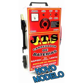 Carregador Bateria Automotiva 50ah Profissional + Auxiliar