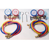 Combo Manifold Refrigeracion R22/134/12 Mas Manifold R 410