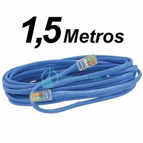 Cabo Patch Cord Rede Lan Ethernet Internet Cat5e Rj45