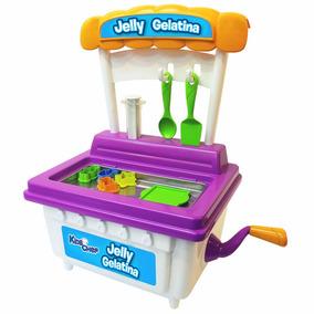 Brinquedo Kids Chef Jelly Gelatina Maquina Br538 Multikids