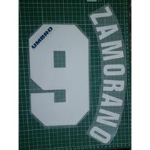 Name Set Ivan Zamorano , Inter Milan Umbro