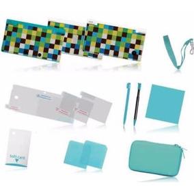 Starter Kit Para Nintendo 3ds -- Kit Azul -- Novo - Na Caixa
