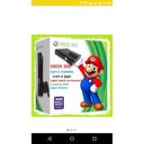 Xbox 360 Com 1 Manete + O Super Mario, Cadilac Dinossauro