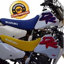 Funda Tanque Y Asiento Premium Dr 350 Año 1993 Fmx Covers