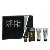 Kit Perfume Animale For Men Caixa Presente 4 Itens