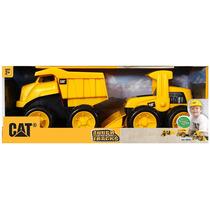 Brinquedo Caterpillar - Caminhao + Trator - Importado Novo