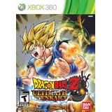 Dragon Ball Z Ultmat Tenkaichi Xbox 360 Nuevo Sellado Fisico