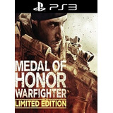 Medal Of Honor Warfighter Limited Edition Juego Digital Ps3