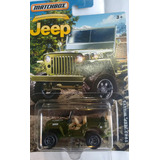 Auto Jeep 1943 Willys Guerra Matchbox Retro Rdf1