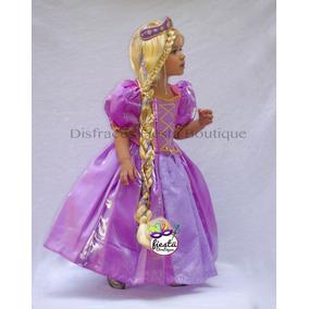 Vestido Princesa Rapunzel Enredados Disfraz Envio Gratis