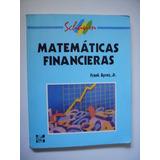 Matemáticas Financieras - Frank Ayres, Jr. Serie Schaum 2001