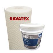 Humedad En Paredes Revestimiento Gavatex A3 25m+ Adhesivo 4k