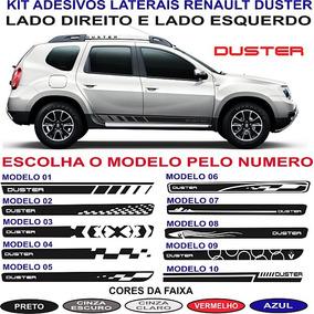 Adesivos Lateral Renault Duster Dynamique Par Ate 2018