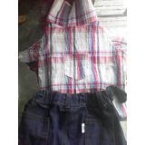 Ropa De Mascota Camisa Y Pantalon